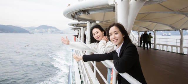 Paseo en barco por la bahía de Busan