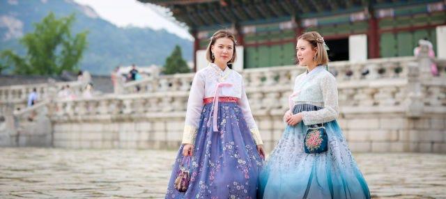 Alquiler de hanbok tradicional
