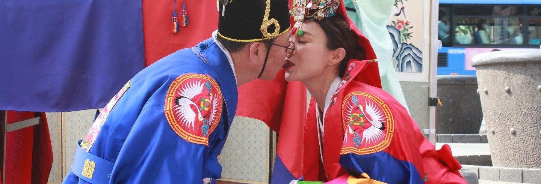 Boda coreana ¡Cásate con el rito tradicional!