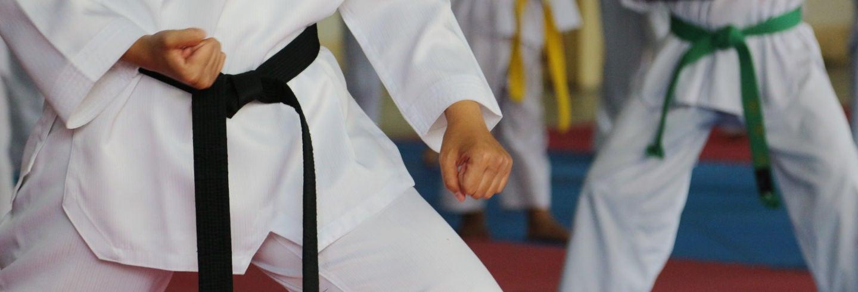 Cours de taekwondo à Séoul