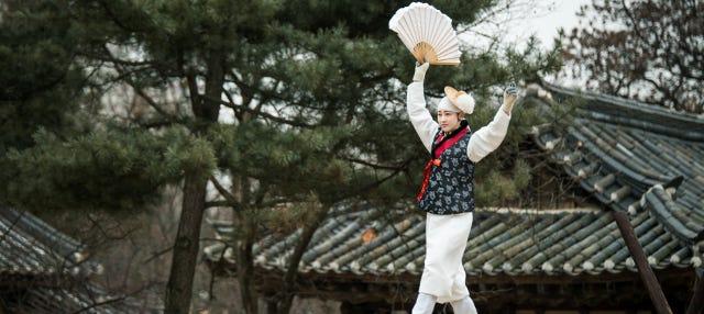 Aldea folclórica de Corea, cueva Gwangmyeong y lago Wangsong