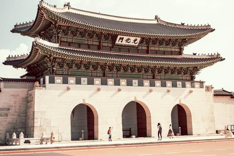 Visite guidée du Palais Gyeongbokgung