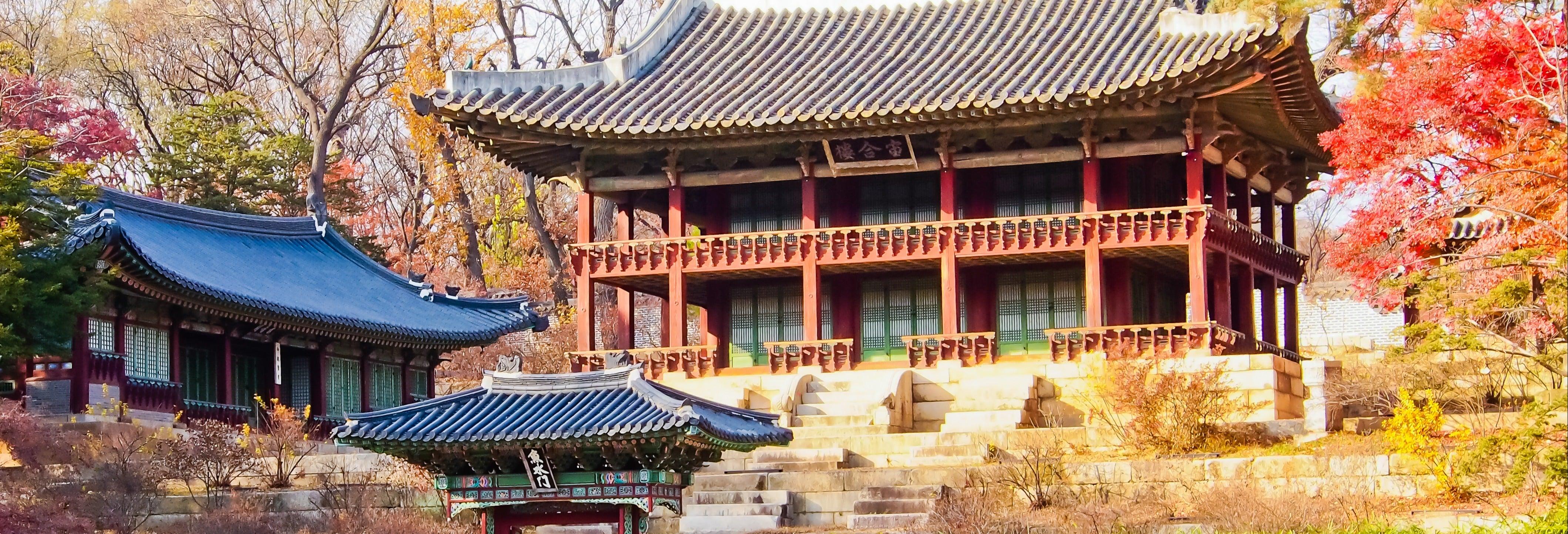 Tour pelo Palácio Changdeokgung e pelo Santuário de Chongmyo