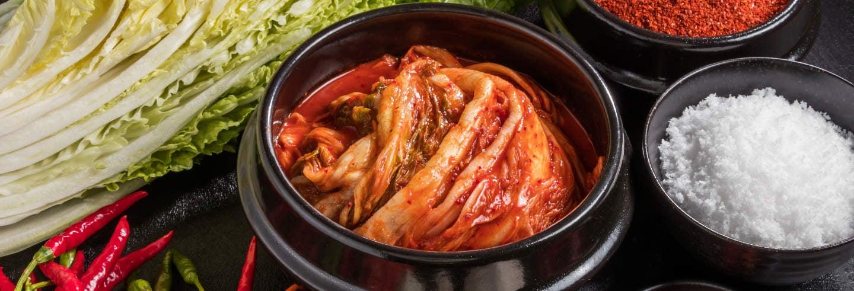 Taller de kimchi