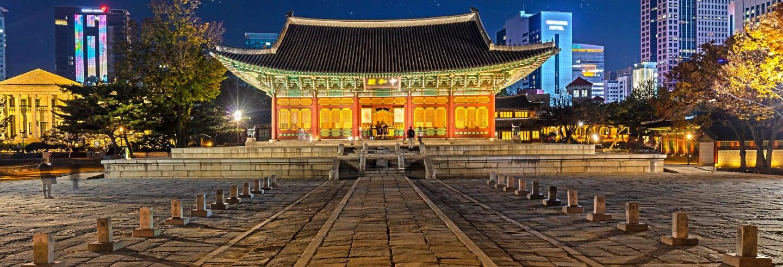 Visite nocturne du Palais Deoksugung