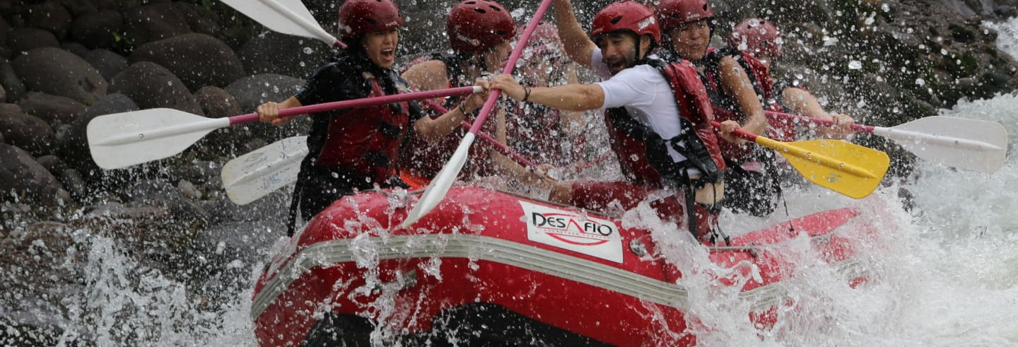 Balsa River Rafting and Abseiling