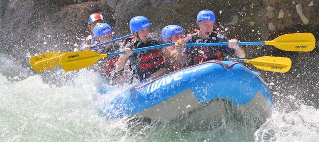 Rafting por el río Sarapiquí