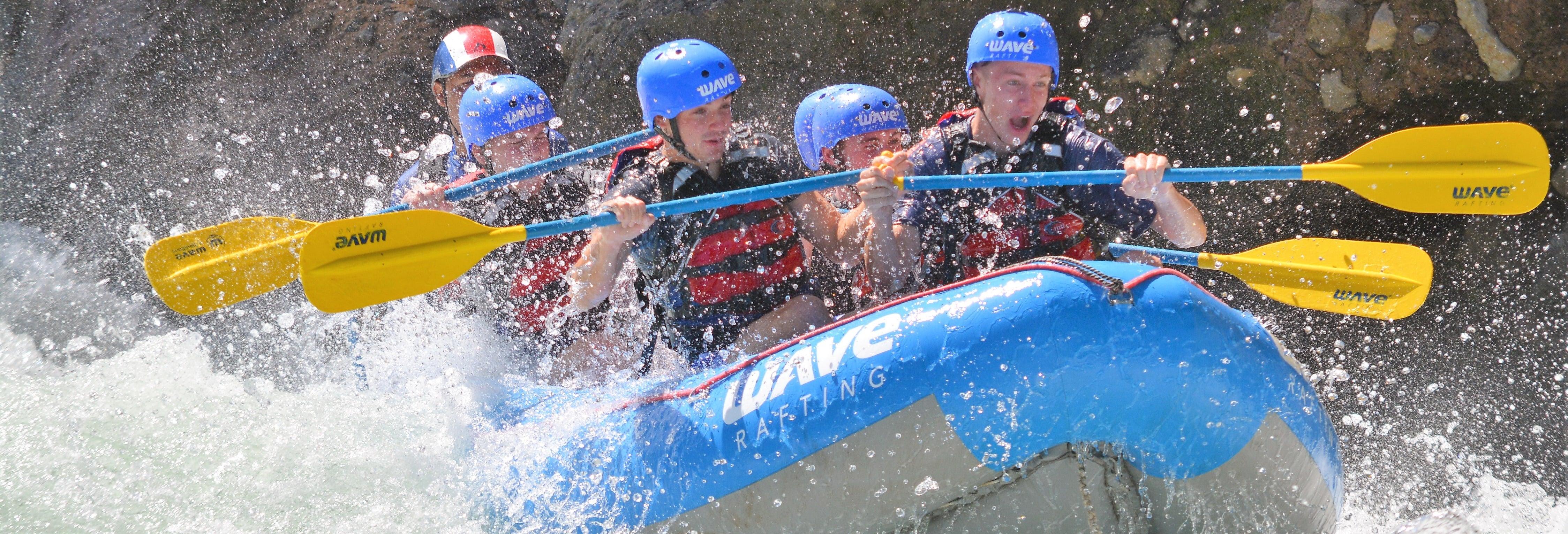 Rafting pelo rio Sarapiquí