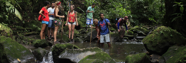 Tour a los volcanes Chato y Arenal