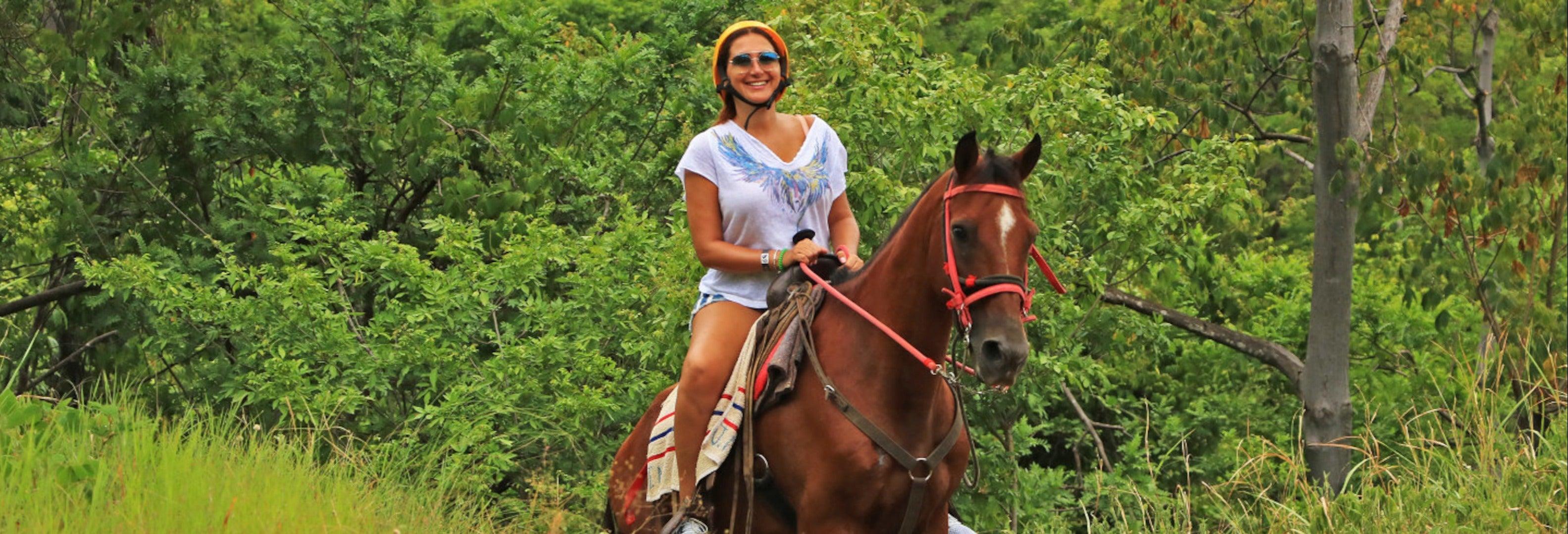 Passeggiata a cavallo nel Diamante Eco Park