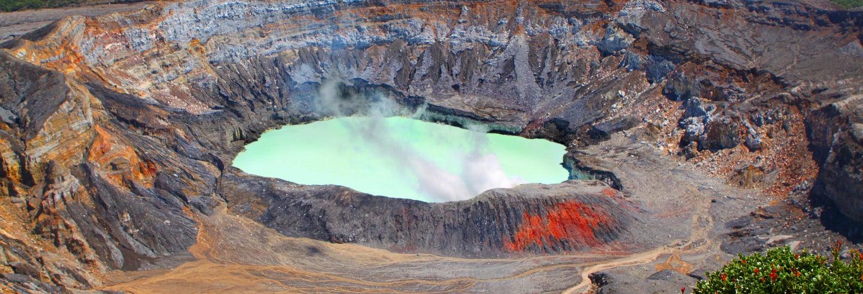 Escursione al vulcano Poás e Doka Estate