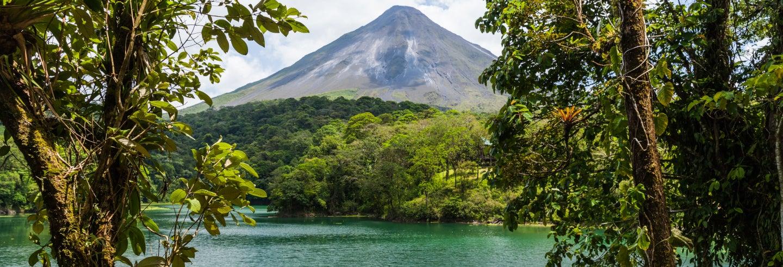 Vulcano Arenal e acque termali di Baldi