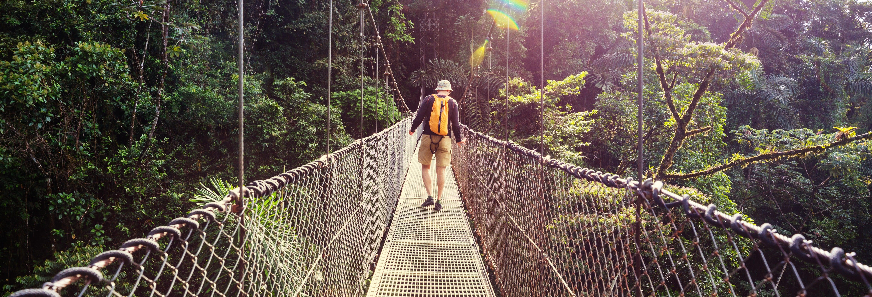 Tour pelas pontes suspensas de Arenal