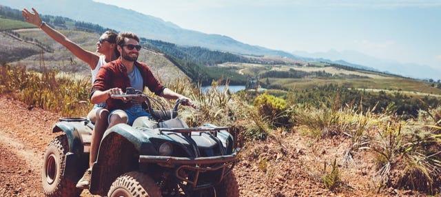 Tour en quad por el Parque Nacional Volcán Arenal