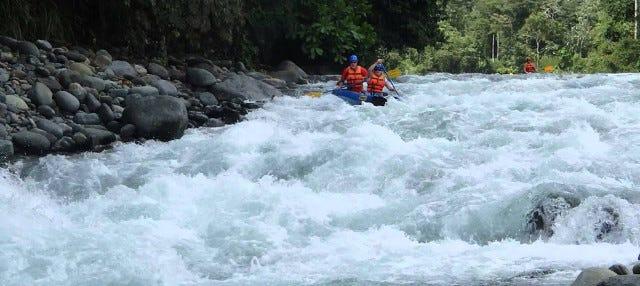 Rafting en el río Savegre