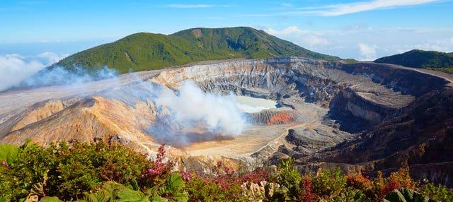 Excursión al Parque Nacional Volcán Poás