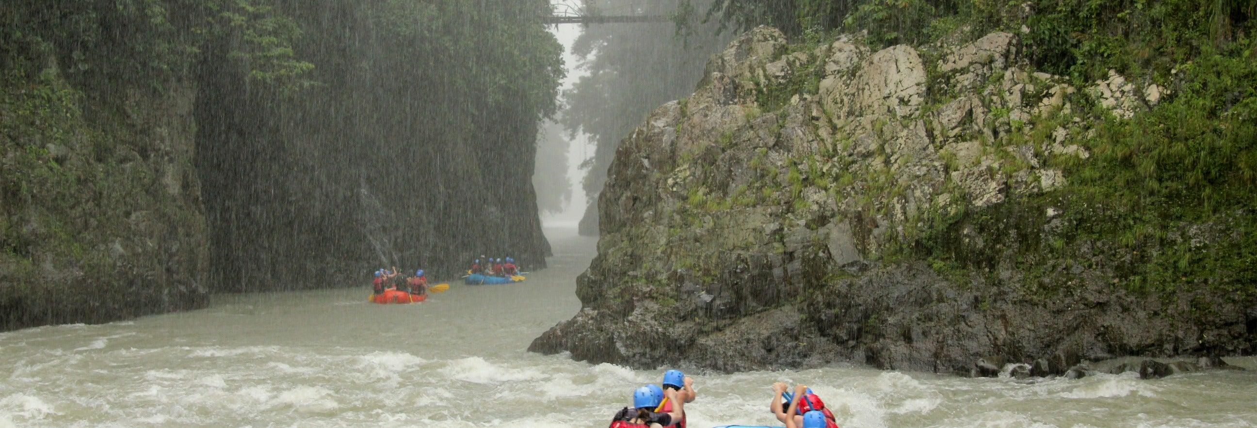Rafting no rio Pacuare