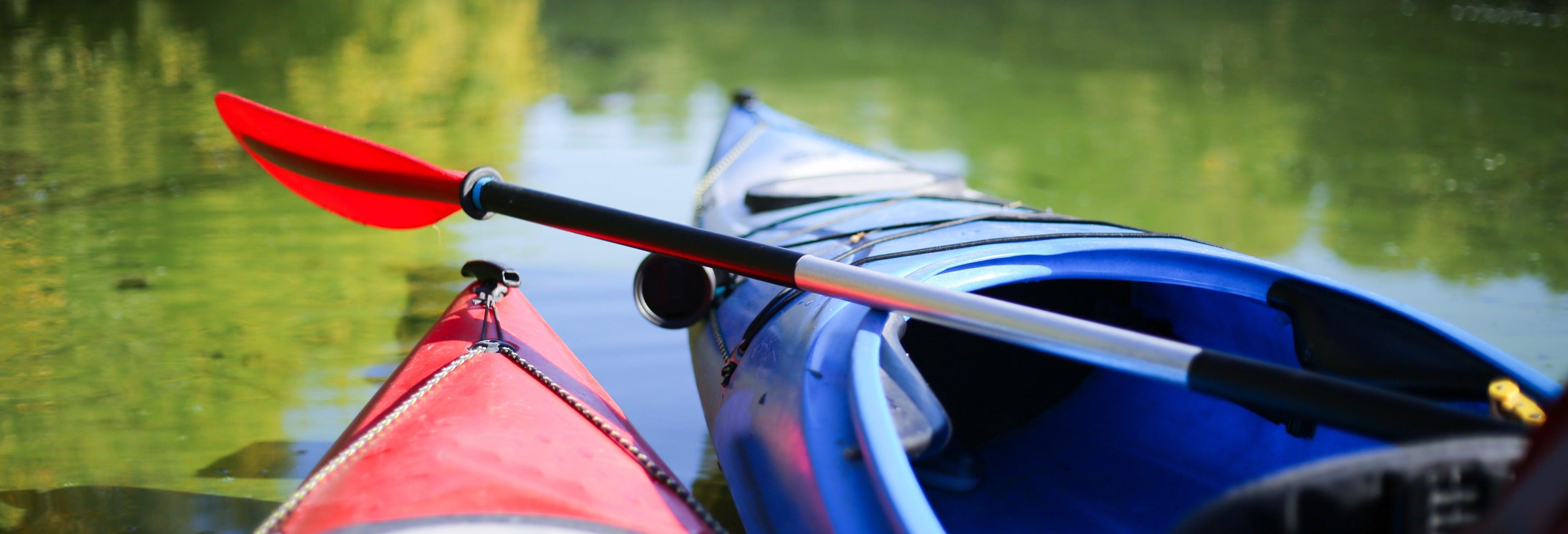 Tour privado en kayak por la laguna de Río Cuarto