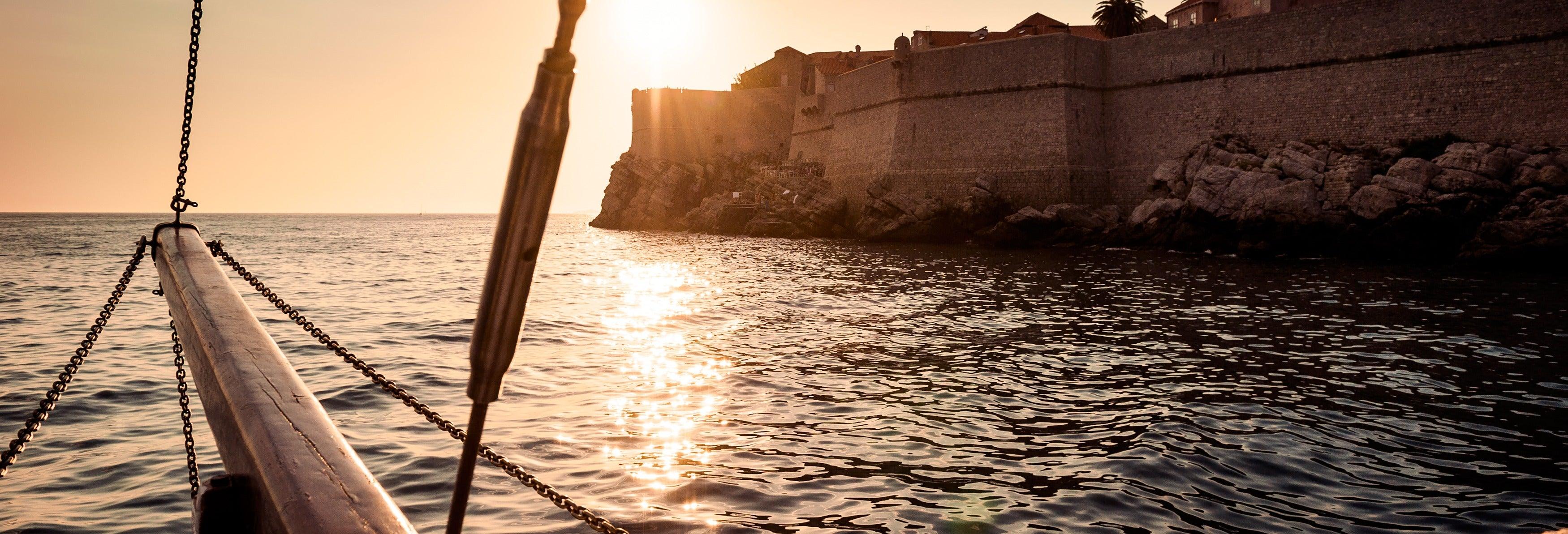 Dîner-croisière dans Dubrovnik