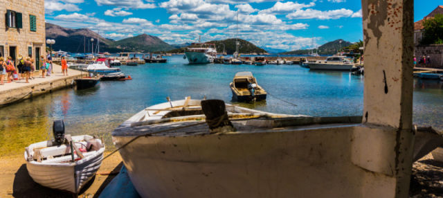 Crucero por las islas Elafitas