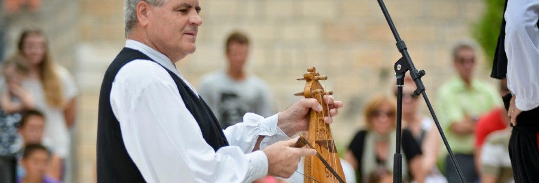 Folclore croata en Čilipi