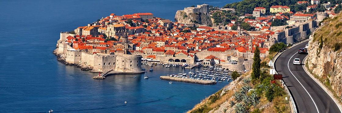Como chegar a Dubrovnik