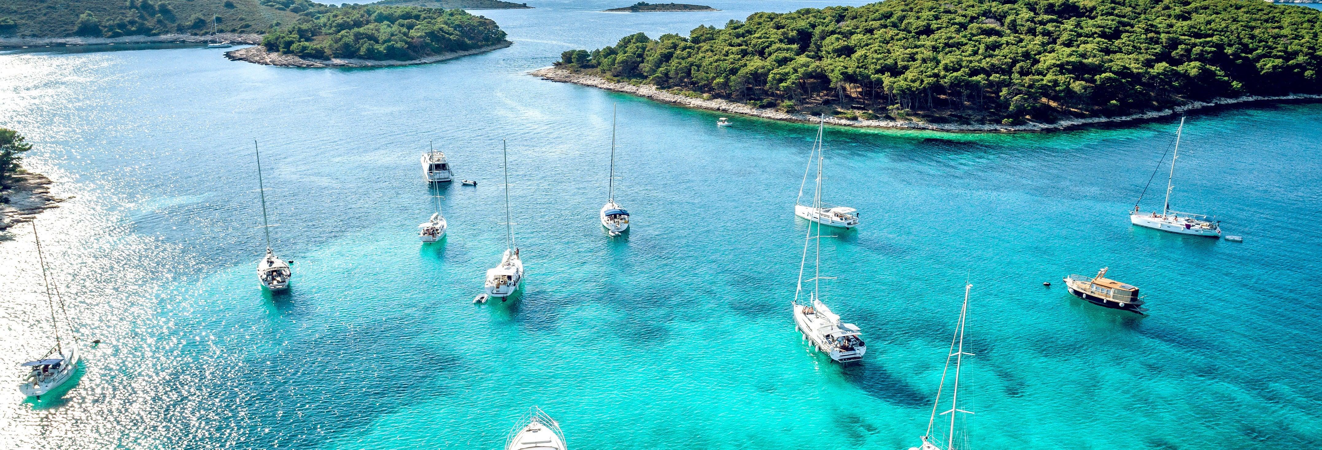 Crucero por las islas Pakleni