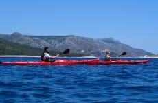 Tour en kayak por las islas Pakleni
