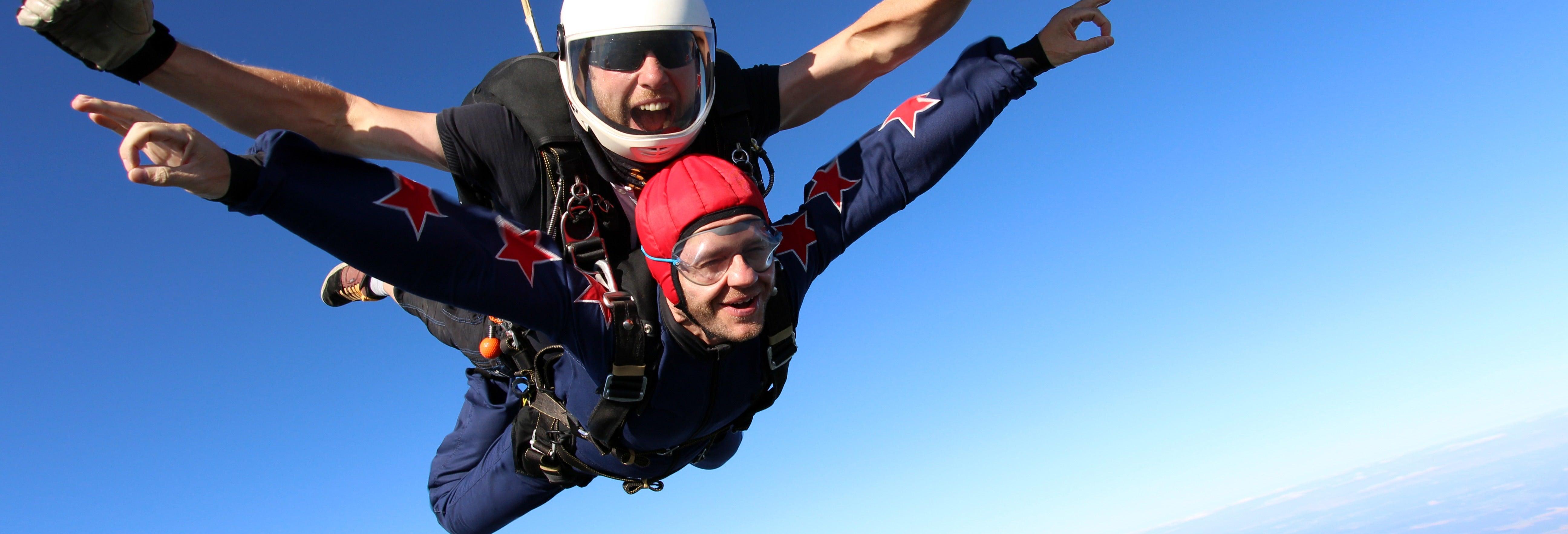 Salto en paracaídas en Sinj