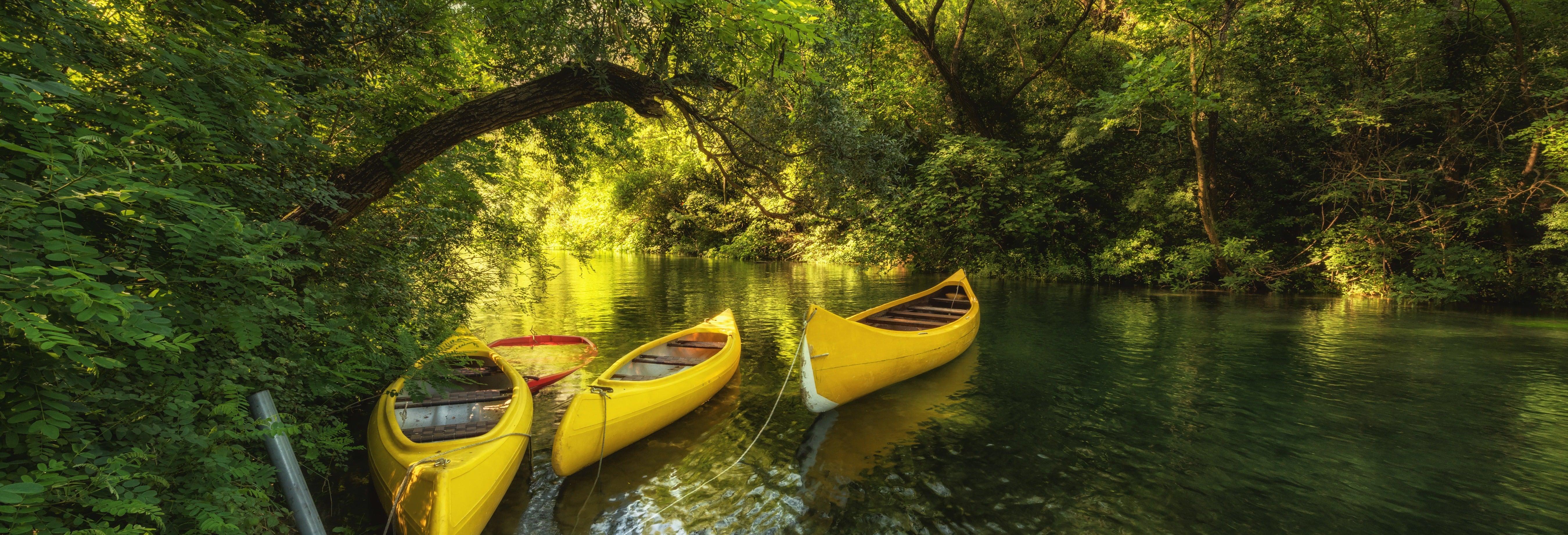 Tour de caiaque pelo rio Cetina