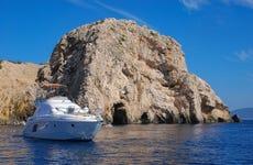 Excursion en bateau jusqu'à la Grotte Bleue