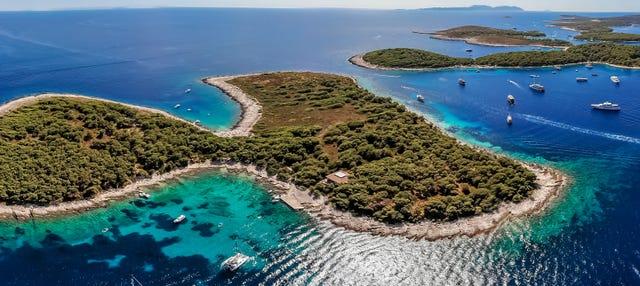Excursión a Hvar e islas Pakleni