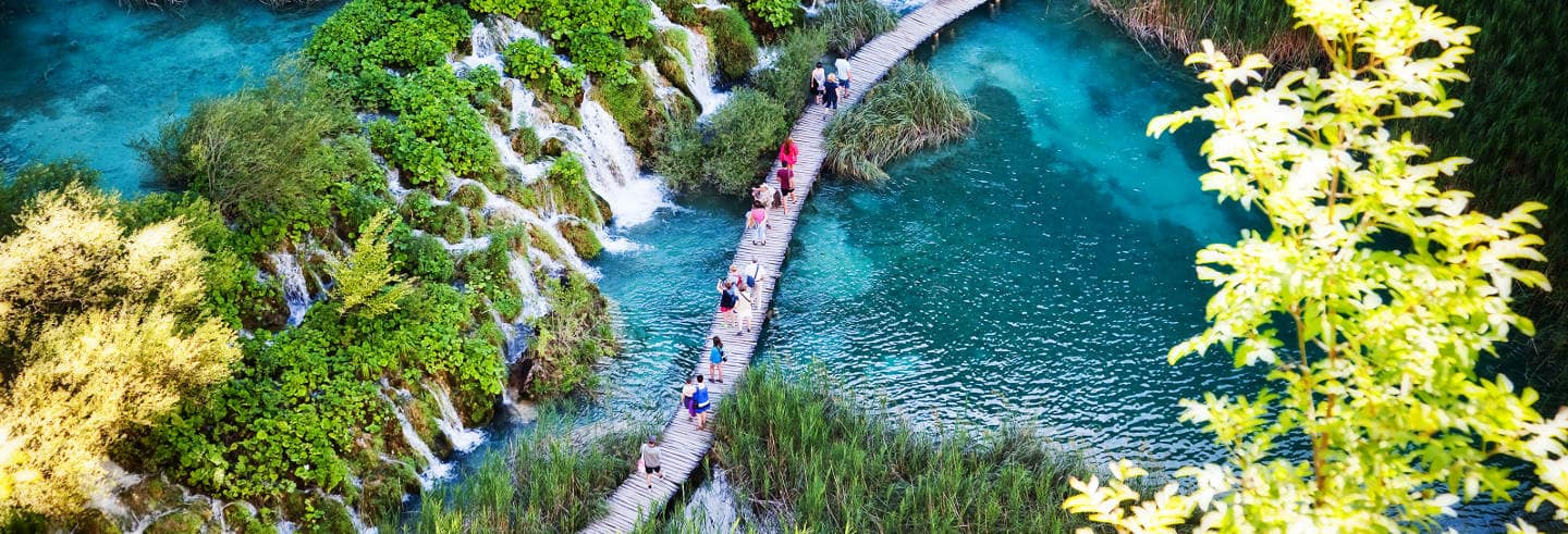 Excursion aux lacs de Plitvice
