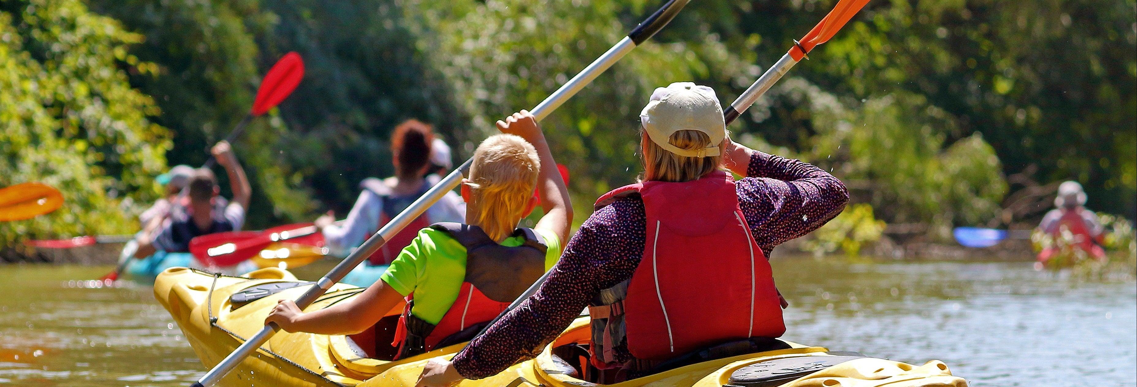 Balade en kayak sur la mer Adriatique et la rivière Žrnovnica