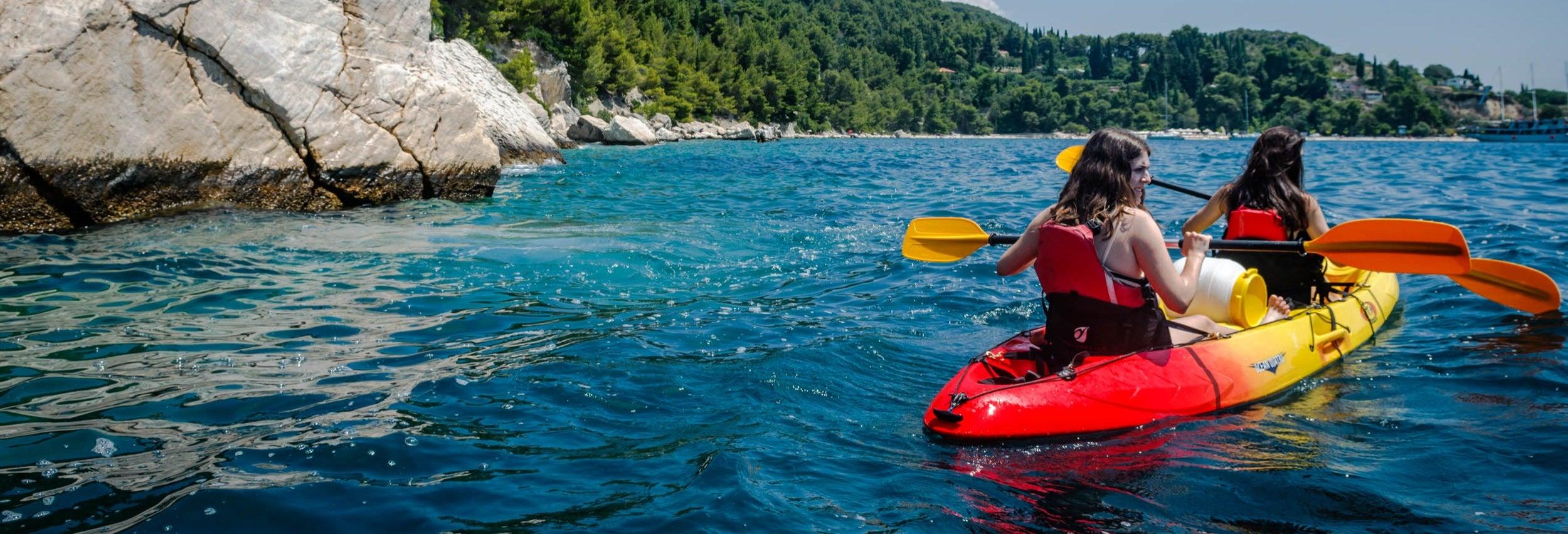 Balade en kayak à Split