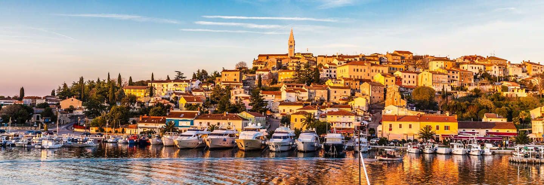 Excursión a Rovinj y Vrsar en barco