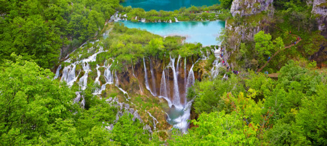 Excursion aux lacs de Plitvice