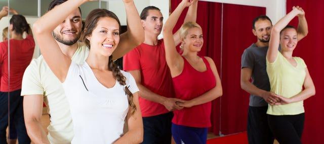 Cours de danse à La Havane