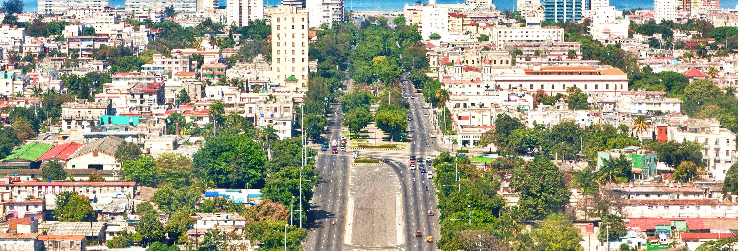 Free tour dell'Avana moderna