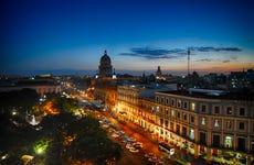 Free tour nocturno por La Habana