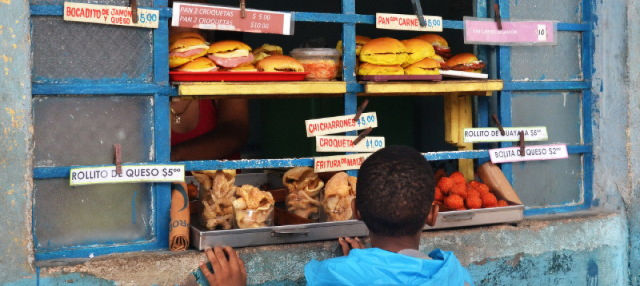 Tour dello street food a L'Avana