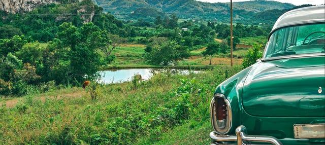 Excursion privée dans la Vallée de Viñales en voiture d'époque