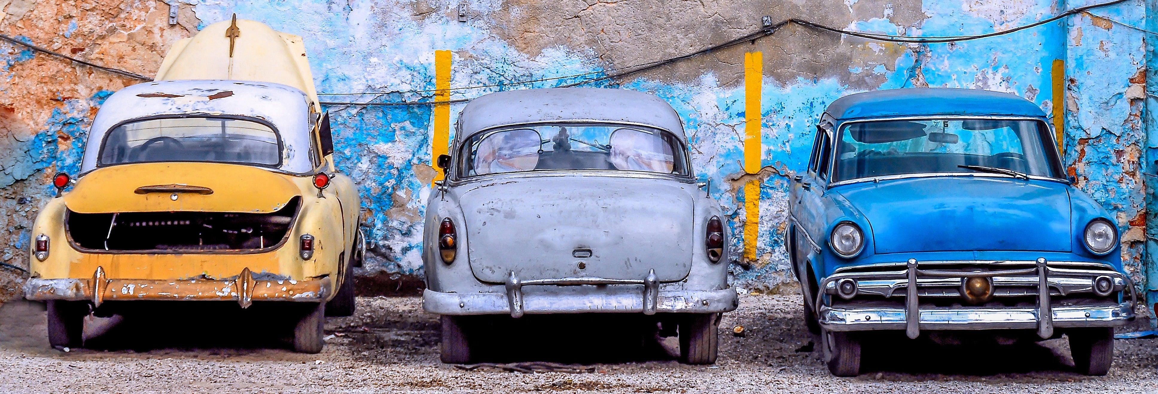 Visita a un taller de coches clásicos