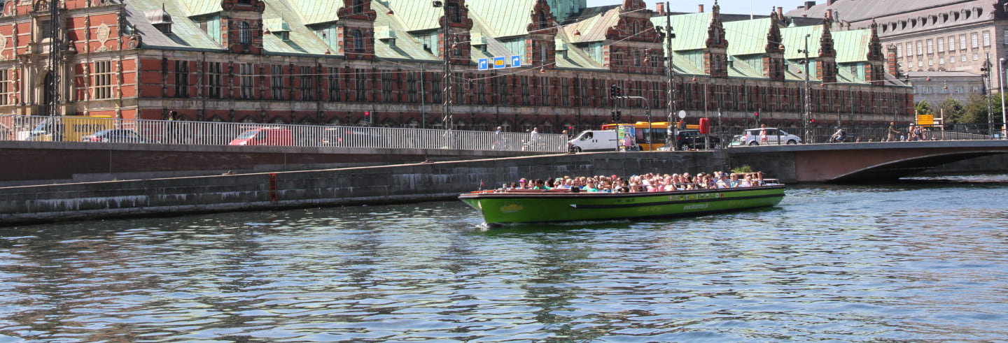 Copenhagen Hop-On Hop-Off Boat Tour