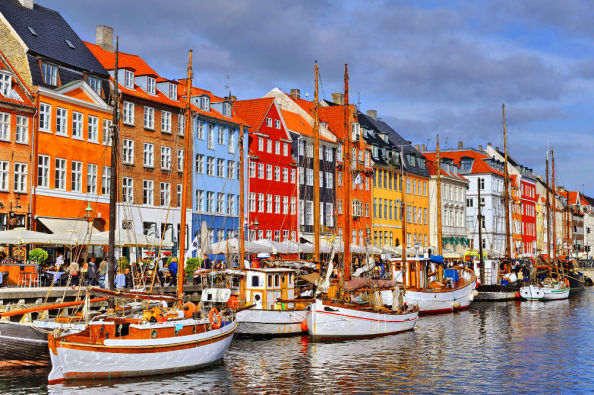 Nyhavn the colourful maritime walkway