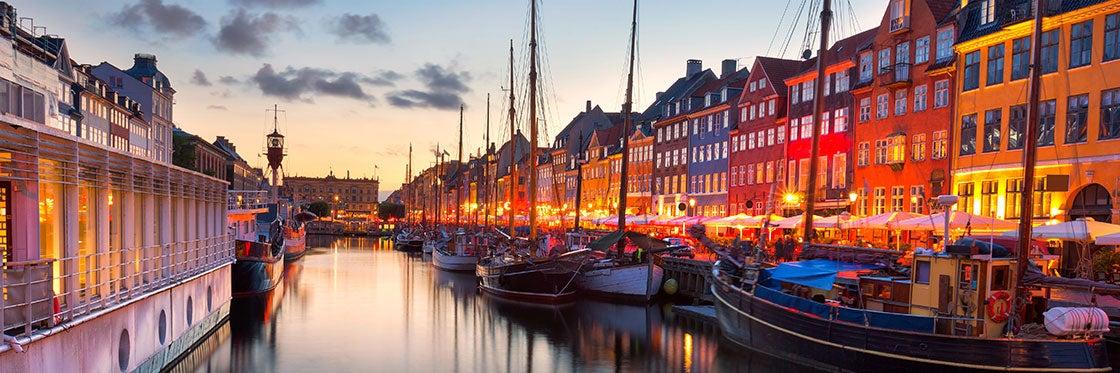 Canal Nyhavn de Copenhague