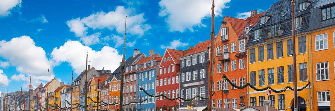 O tempo em Copenhague