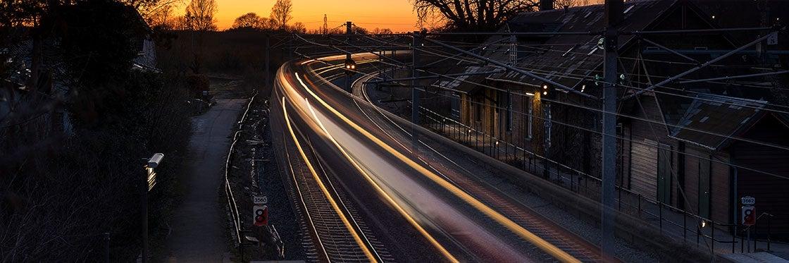 Trens S-tog em Copenhague