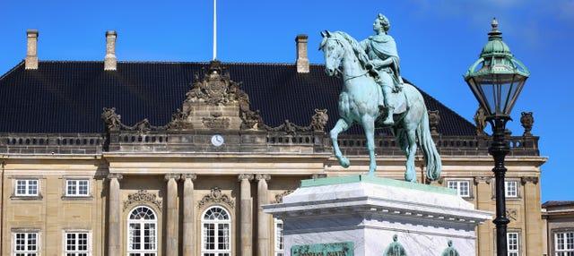 Visita guiada por el palacio de Amalienborg