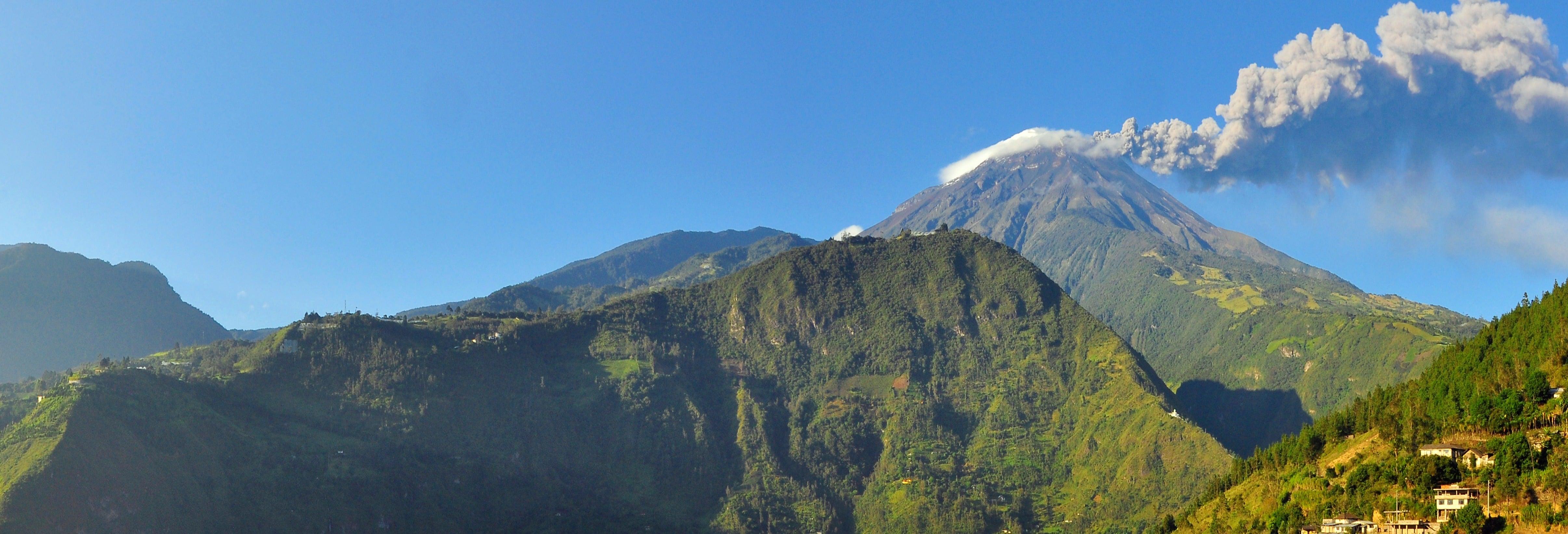 Excursão ao vulcão Tungurahua